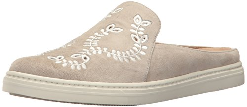 Via Spiga Women's V-RINA3 Sneaker, Pavilion Grey Suede, 8 UK