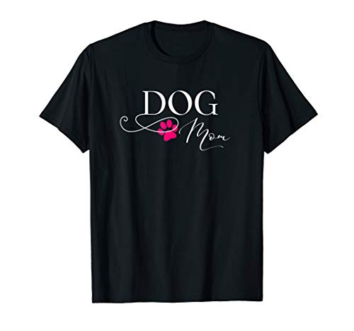 Dog Mom Shirt Doggie Puppy Mama Tee (Doberman German Shepherd)