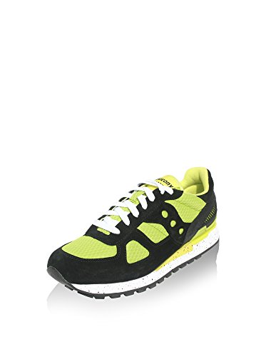 SAUCONY ORIGINALS Shadow O Fluo - SMU, Sneaker Uomo Nero/Lime
