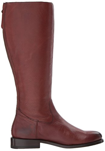 FRYE Women's Jayden Buckle Back Zip Riding Boot Redwood