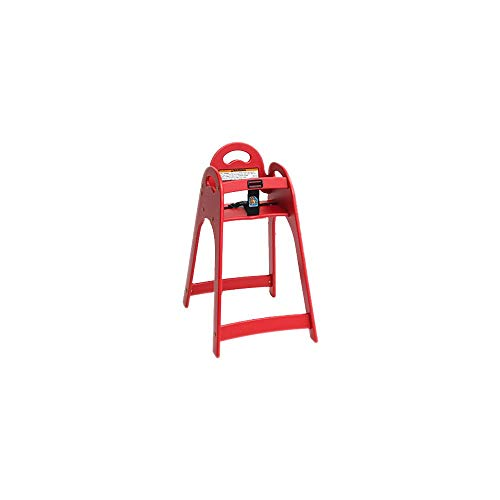 (Koala Kare KB105-03 Designer Red High Chair with Rounded Top/Sides)