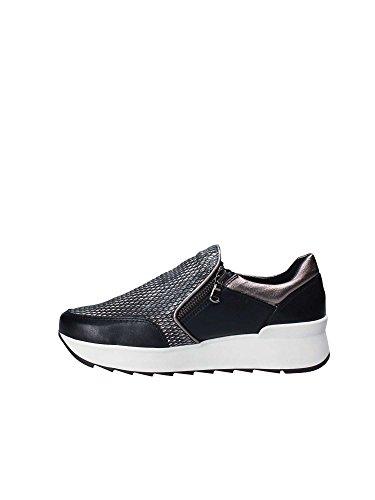 De Flexx D1509_04 Slip Op Schoenen Vrouwen Zwart