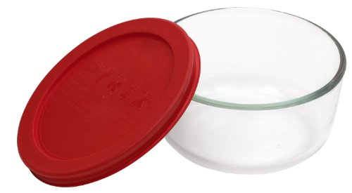 Pyrex Simply Store 2-Cup Round Glass Food Storage ()
