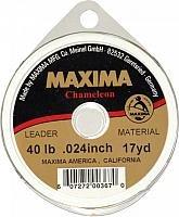 Maxima Fishing Line Leader Wheel, Chameleon, 40-Pound/17-Yard