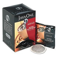 Java One Coffee Pods, Estate Costa Rican Blend, Single Cup, 14/Box by Java One