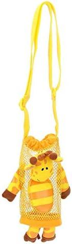 Kinderen Drinkfles Cartoon Bag Pouch Carrier Baby Water Bottle Handtas Met HandvatB