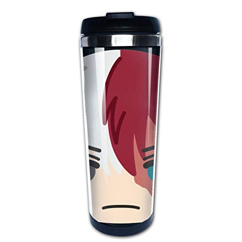 Ownspace My Hero Academia-Tumbler Double Wall Insulated Coffee Cup For Car Travel Tumbler With Handle (My Washing Machine Won T Fill With Water)