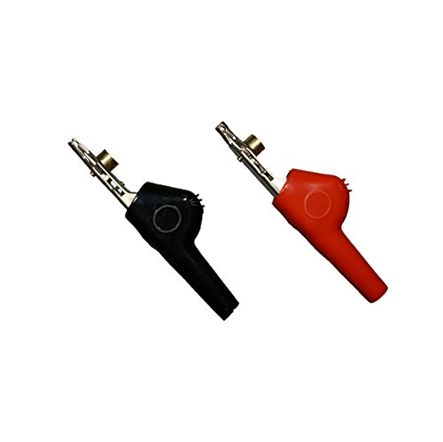 AST Labs Alligator Clip Bed-of-Nail and Single Spike Angled Nose Large 1 Pair ()