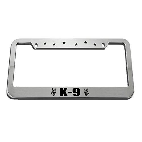 K9 License Plate - Speedy Pros K-9 License Plate Frame Tag Holder
