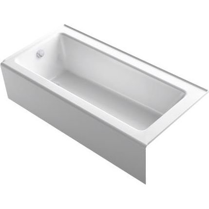 "Kohler 847-0 Bellwether 66"" x 32"" Alcove Bath with Integr..."