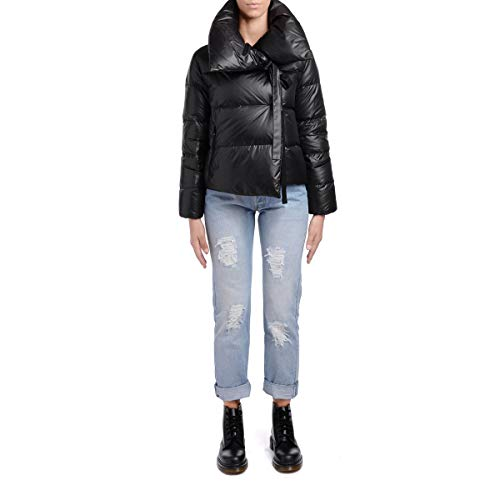 Women's Puffa Down Black Jacket Bacon Black 1dOxd