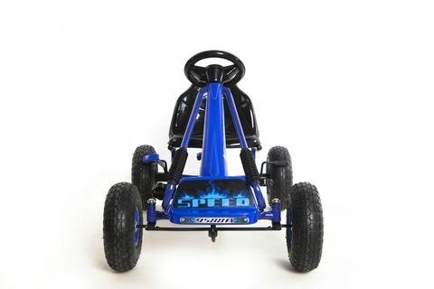RideonToys4u Top Racer Pedal Go Kart With Rubber Air Wheels & Gear Brake Lever
