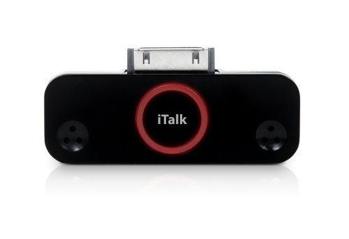 Italk Pro Ipod Dc Stereo Audio Recorder Connect Ext. Mic Or Spkrs