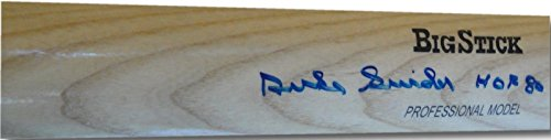Duke Snider Hand Signed Autographed Big Stick Baseball Bat HOF 80 COA