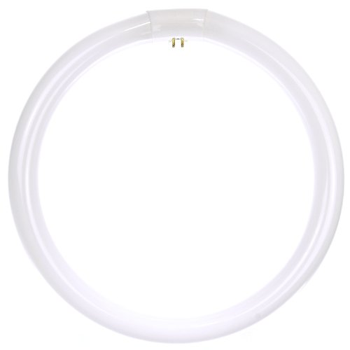 Sunlite FC12T9/WW Fluorescent 32W T9 Circline Ceiling Lights, 3000K Warm White Light, 4-Pin Base