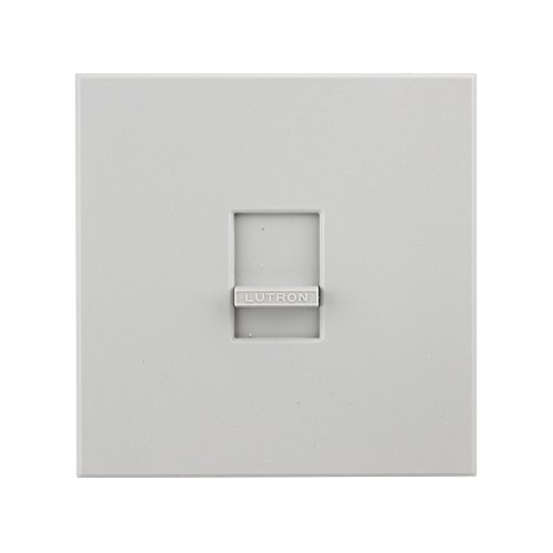 Lutron N-2000 Incand 1-Pole 2000W Slide-to-Off Dimmer, Gray by Lutron