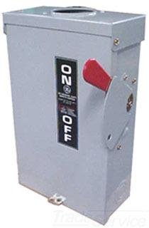 GE TG4322R 4 Wire 3 Pole Fusible Type TG General-Duty Safety Switch 240 Volt 60 Amp NEMA 3R Spec-Setter™
