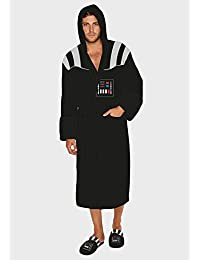 Official Men's Star Wars Darth Vader Sound Effect Adults Fleece Dressing Gown