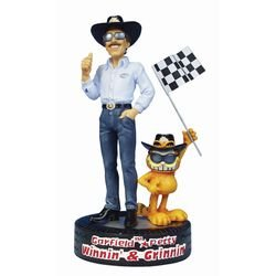 Click for larger image of Petty and Garfield Winning And Grinnin Figure