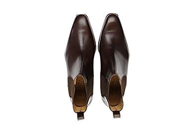 24c86bb191e6 Bexley - Chaussures Ville Bergame - Homme - 44.5 Chocolat  Amazon.fr   Chaussures et Sacs
