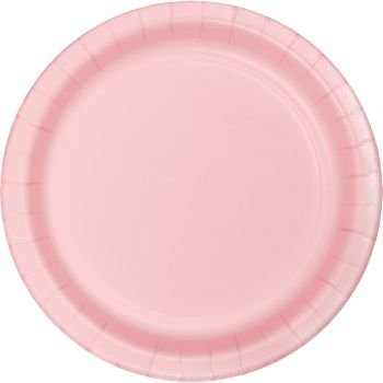 Heavy Duty 10-inch Paper Plates, Pink
