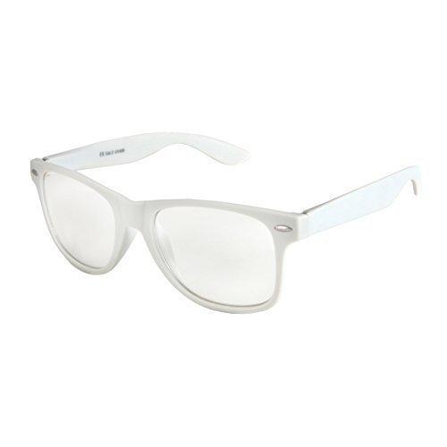 De Unisex Alta Gafas varios De con muelle Gafas Nerd Blanco calidad colores 101 Bisagra Sol Vintage elegir Modelos de Transparente estera a Retro de goma wIrIPq