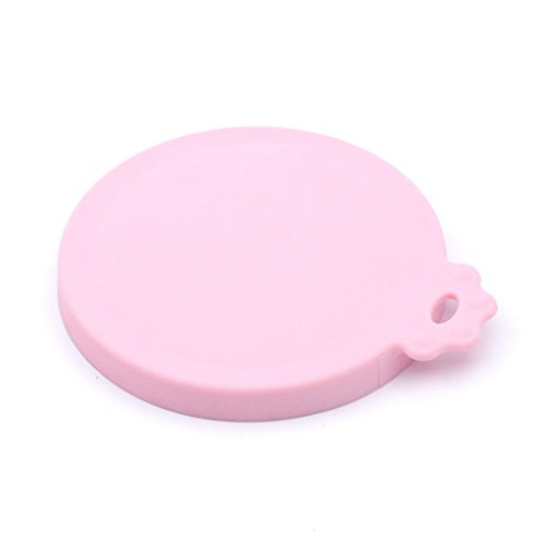 SuperDesign Universal Silicone Pet Food Storage Can Lid Cover, One Fits Three Standard Size Dog and Cat Can Tops, Elvis Rose (Universal Can Lid compare prices)