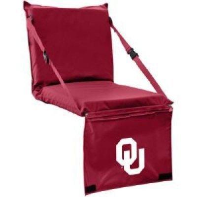 Oklahoma Sooners Tri-fold Seat (Tri Fold Seat Cushion)