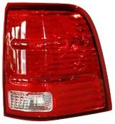 TYC 11-5507-01-1 Compatible with Ford Explorer Right Replacement Tail Lamp