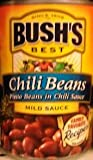 Bush's Chili Beans 16oz (Pack of 12) (Pinto Beans in Chili Sauce) (Mild)