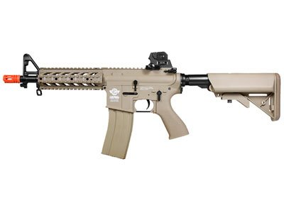 g&g cm16 combat machine raider airsoft rifle - tan - new(Airsoft Gun) by G&G