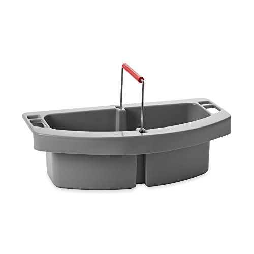 Rubbermaid Commercial Maid Cleaning Caddy, Gray, FG264900GRAY ()