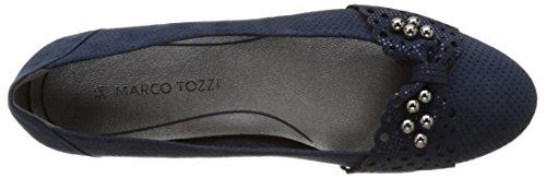 Tozzi22104 Mujer Azul Navy Bailarinas Comb 890 Marco 7nAU4xdn