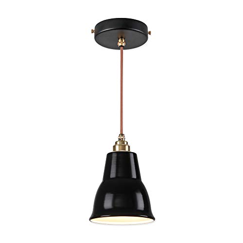 Vintage Industrial Enamel Pendant Lights in US - 5