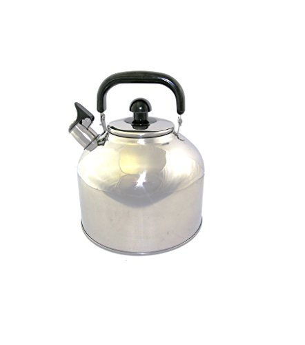Stainless Steel Whistling Tea Kettle Large 7 Quart Teapot wi