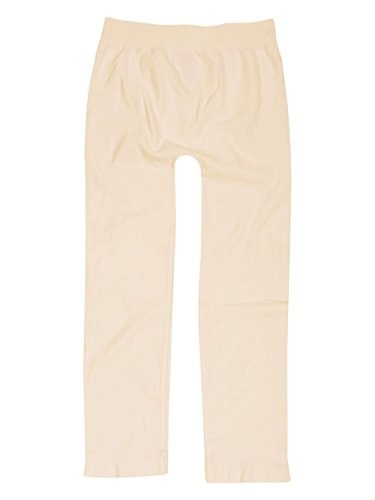 Tees by Tina Micro Rib Capri - Alabaster (One Size Fits Most, Alabaster)