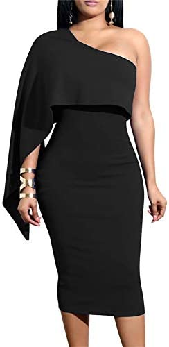 GOBLES Womens Shoulder Bodycon Cocktail product image
