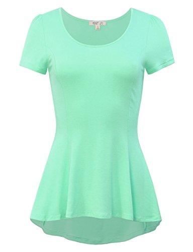 mint green top - 8