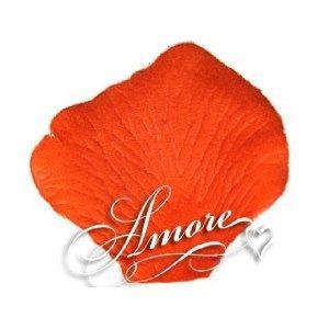 1000 Wedding Silk Rose Petals PALM BEACH CORAL 2 inch Wide