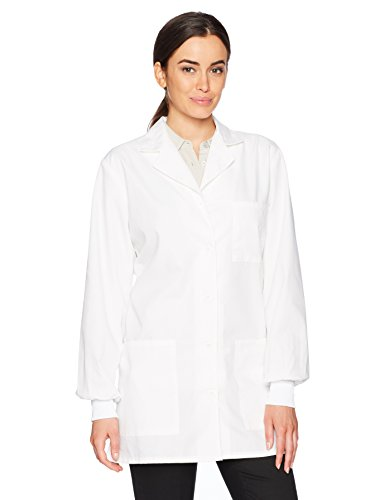 Cherokee Women's Professional Certainty 32'' Lab Coat, White, 5X-Large by Cherokee