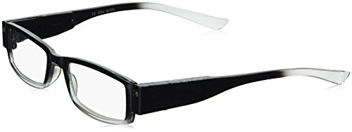 EVIDECO LED Reading Glasses with Light, LG Black Optic By Finess Power +3.5 -  43237-2