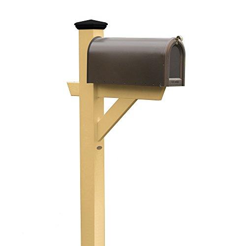 Highwood AD-MLBX1-SND Hazleton Mailbox Post, Sandstone