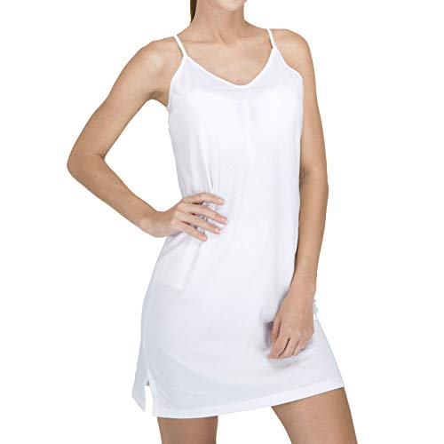 Cottonique Womens Hypoallergenic Full Slip Made from 100% Organic Cotton