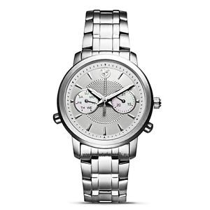 Genuine BMW Women's Stainless Steel Watch with Silver Dial by Tourneau