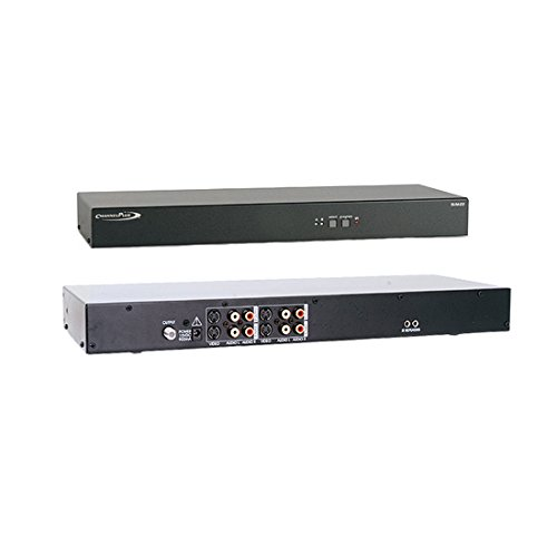 S-Video Stereo Modulator with I/R Control Full MTS Encoding 25 dB Output Signal Two Input S-Video Modulator Rack Mountable, Compatible with 12 Volt and 5 Volt IR Systems, Part # SVM22
