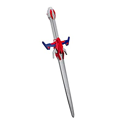 Transformers Optimus Prime The Last Knight Hasbro Movie Sword with Awesome Battle Sound Effects and Shield Battle Pack Ready to Defeat Megatron and His Decepticons: Toys & Games