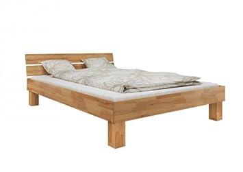 Erst Holz Doppelbett Futonbett 140x200 Französisches Bett Buche
