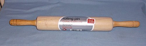 Good Cook Classic Wood 10 Inch Rolling Pin 23830 (3 Pack)