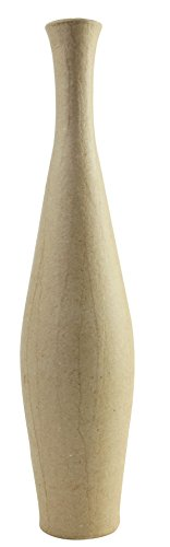 décopatch Mache Freesia Vase, 6 x 6 x 29.5 cm, ()