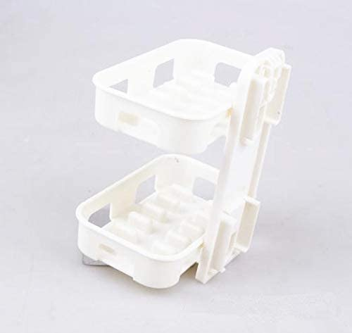 New Adhesive Bathroom Accessories Wall Mounted Soap Dish Soapbox Basket Holder